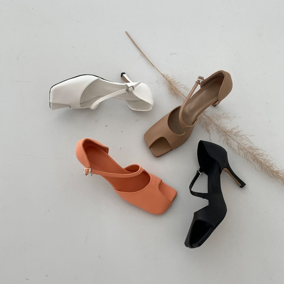 1003 Black,White,Beige,Orange 4color 8.5cm