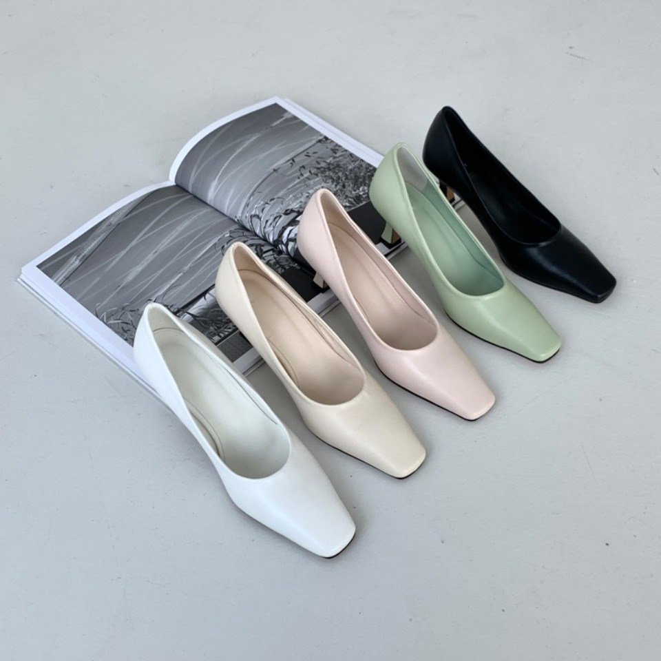 1002 Black,White,Cream,Pink,Mint 5color 6.0cm